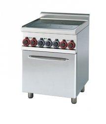Kuchnia ceramiczna zpiek. konw. RM Gastro CFMC4 - 66 ET