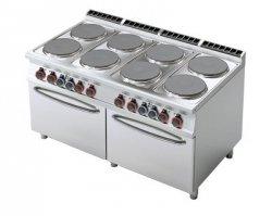 Kuchnia elektryczna zdwoma piek. RM Gastro CF8 - 916 ET