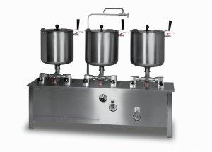 Zestaw kociołków przechylnych elektryczny ze-6 Lozamet