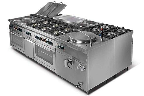 Kuchnia gazowa 4-palnikowa L700.KG4 Lozamet
