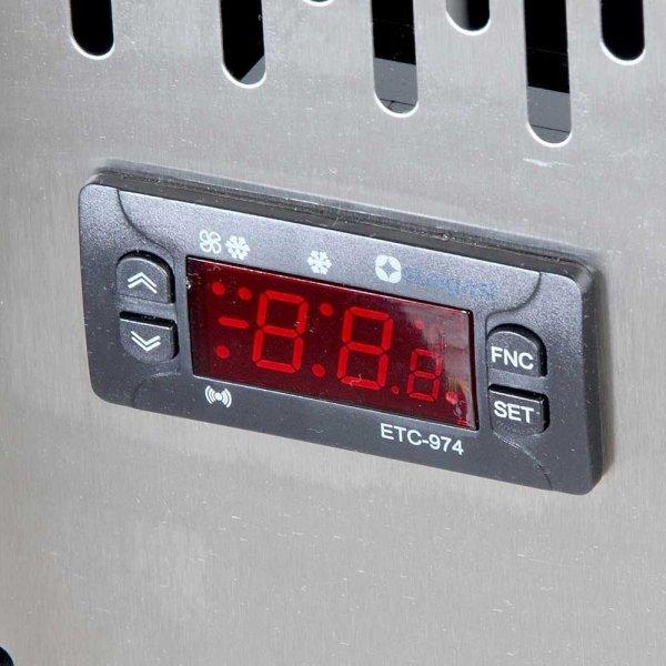 stół chłodniczy 2 drzwiowy agregat po prawej stronie Stalgast