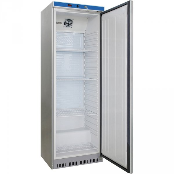 szafa chłodnicza 350 l., wnętrze z ABS, stal nierdzewna