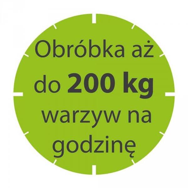 szatkownica do warzyw CL20 230 V z kompletem tarcz 714073
