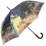 Vincent van Gogh Kawiarniany taras Parasol długi ze skórzaną rączką