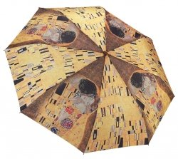 Gustav Klimt Pocałunek - mała parasolka damska Galleria