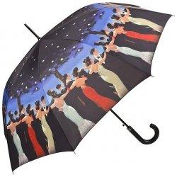 Jack Vettriano Waltzer Parasol długi ze skórzaną rączką