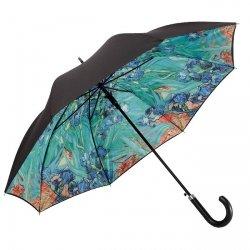 Vincent van Gogh Irysy - parasol z podwójną czaszą i skórzaną rączką