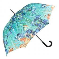 Vincent van Gogh Irysy Parasol długi ze skórzaną rączką