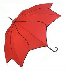 Swirl czerwona parasolka długa automat