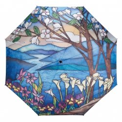 Landscape Witraż - parasolka składana Galleria