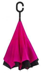 SuperBrella różowy parasol odwrotny - super HIT!