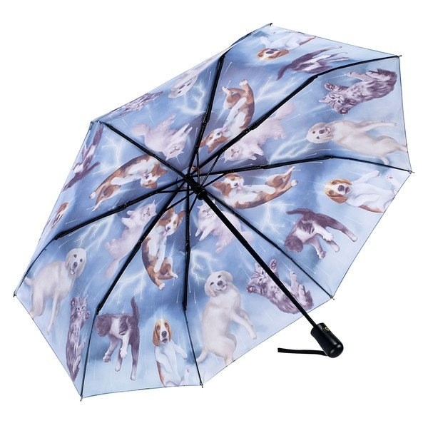 Raining Cats & Dogs - parasolka składana Galleria