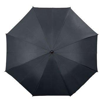 Niebo Chmury - parasol z podwójną czaszą i skórzaną rączką