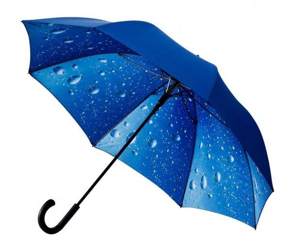 Krople kropelki deszcz - piękny duży parasol Ø120 cm