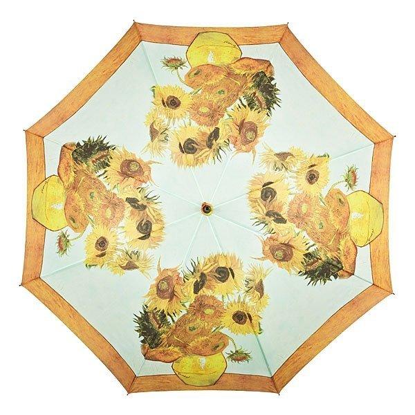 """Vincent van Gogh """"Słoneczniki"""" Parasol długi ze skórzaną rączką"""