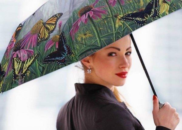 Górskie Motyle Mała parasolka damska Galleria