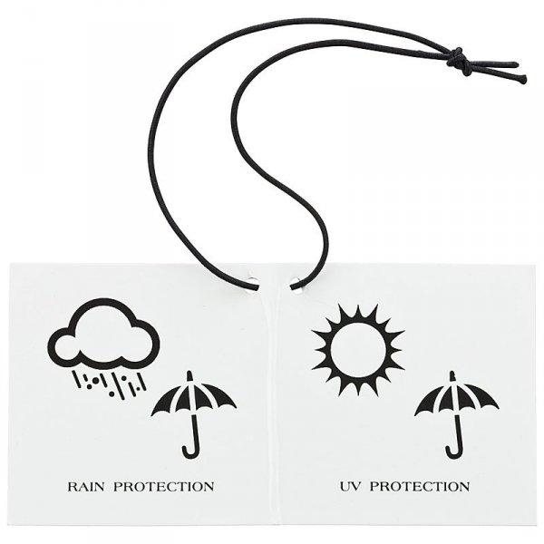 Szczeniaczki Parasol długi ze skórzaną rączką