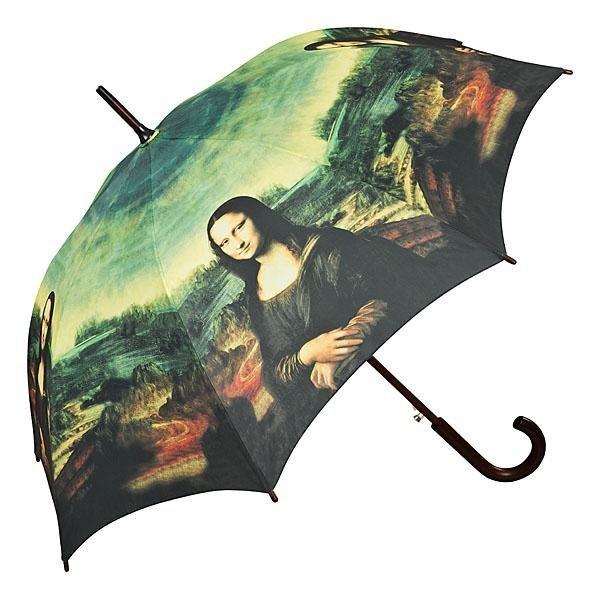 Mona Lisa - parasol długi z drewnianą rączką