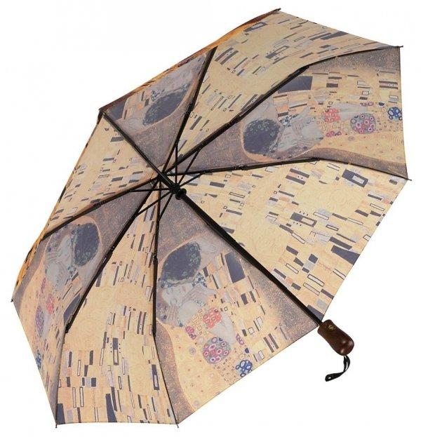 "Gustav Klimt ""Pocałunek"" - mała parasolka damska Galleria"