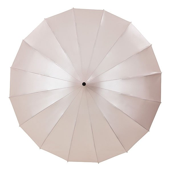 Cécile puderrosa metalic - parasol pagoda