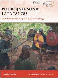 Podbój Saksonii, lata 782-785. Widukind pokonany przez Karola Wielkiego