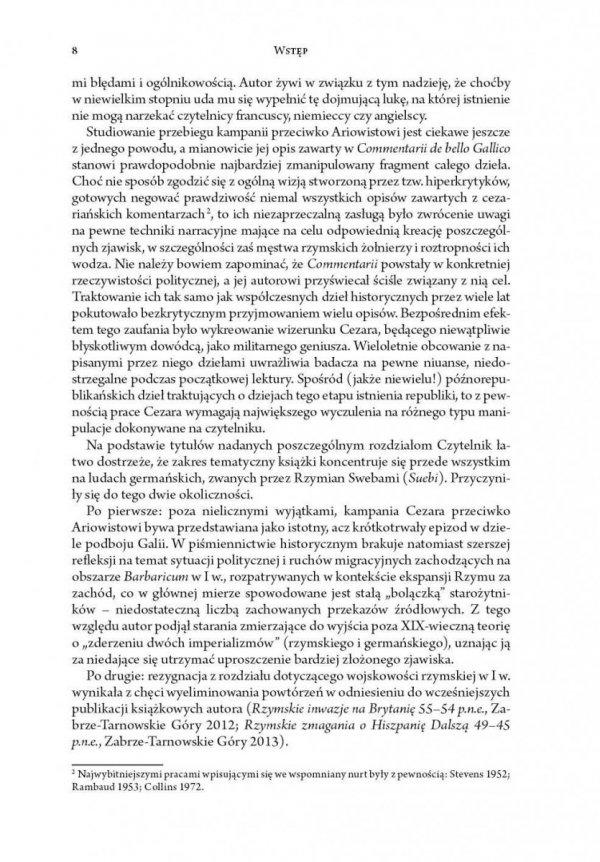 Kampania Cezara przeciwko Ariowistowi (58 r. przed Chr.)