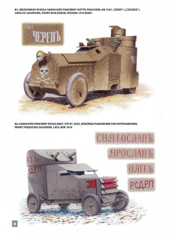 Broń pancerna podczas wojny domowej w Rosji. Bolszewicy