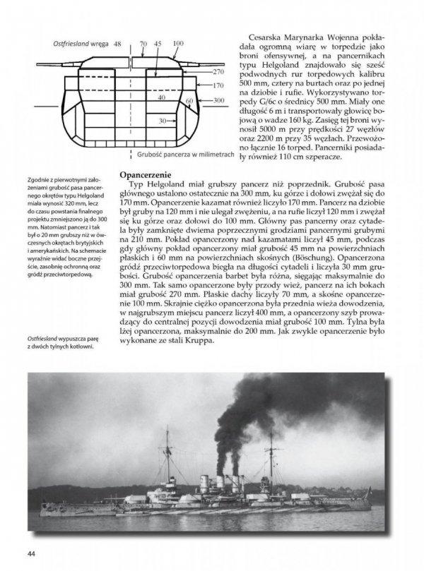 Niemieckie pancerniki 1914-1918 (1). Typy Deutschland, Nassau i Helgoland