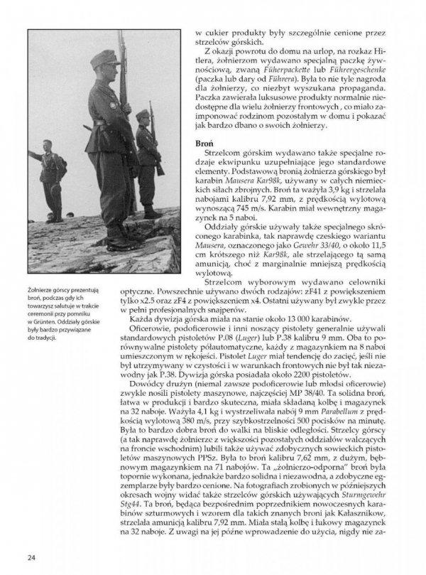 GEBIRGSJÄGER. Żołnierz niemieckich oddziałów górskich 1939-1945