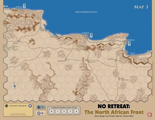 No Retreat: The North African Front
