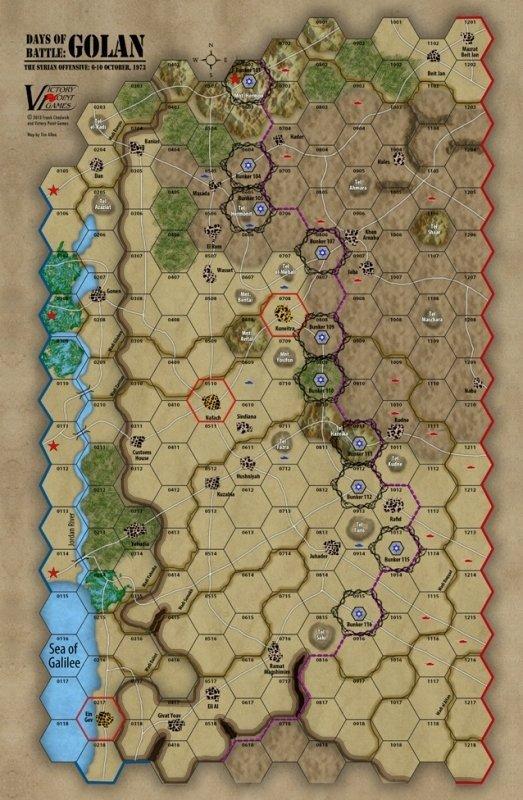 Days of Battle: Golan Heights (box)