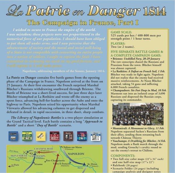 La Patrie en Danger 1814