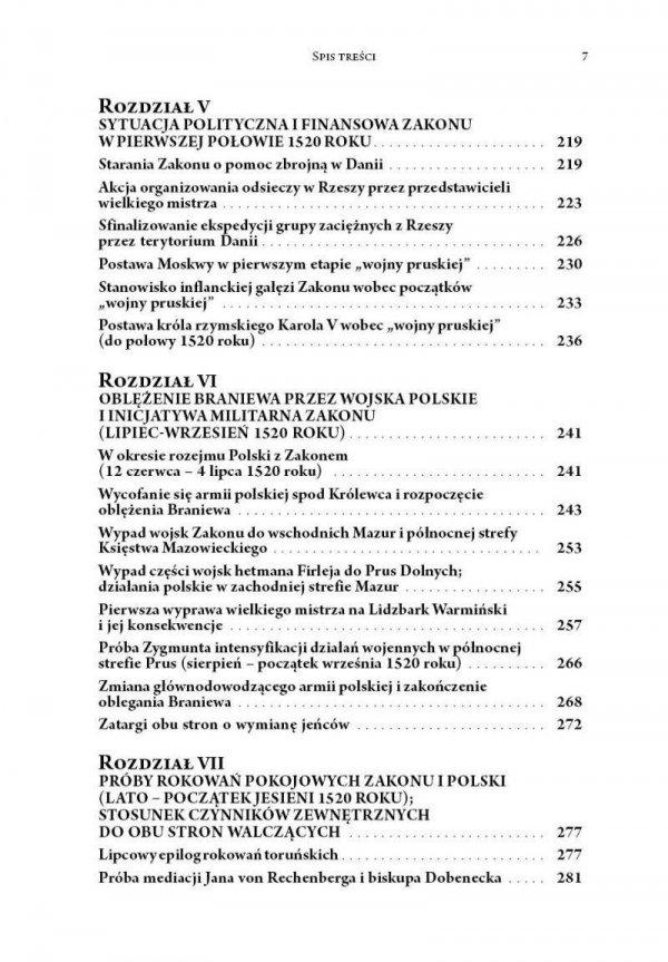 """""""Wojna Pruska"""", czyli wojna Polski z zakonem krzyżackim z lat 1519-1521"""