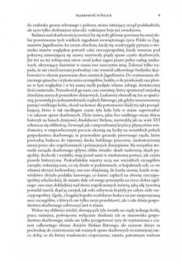 Skarbowość w Polsce i jej dzieje za Stefana Batorego 1576-1586