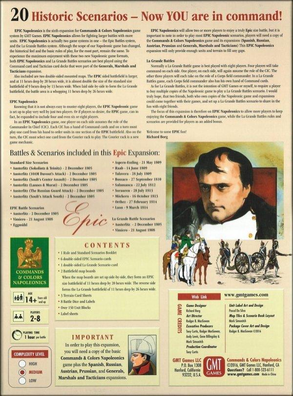 Commands & Colors: Napoleonics Epic