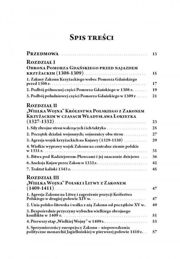 Wojny Polski z zakonem krzyżackim (1308-1521) (miękka oprawa)