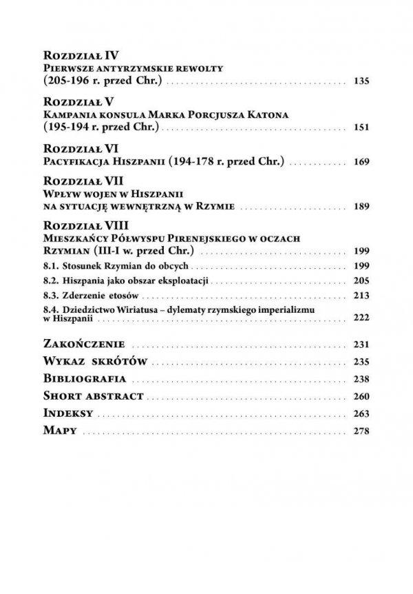 Rzymski podbój Hiszpanii (218-178 przed Chr.) Aspekty polityczne, militarne i społeczne