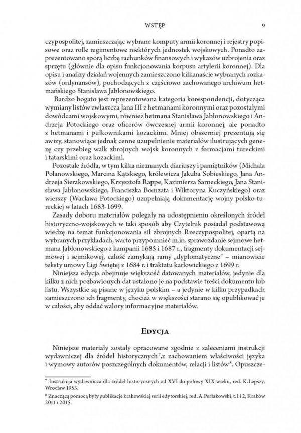 Źródła do dziejów wojny polsko-tureckiej w latach 1683-1699
