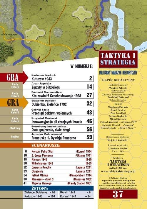 Taktyka i Strategia nr 37 - Kutuzow 1943