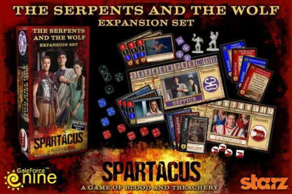 Spartacus: The Serpents & the Wolf Exp.