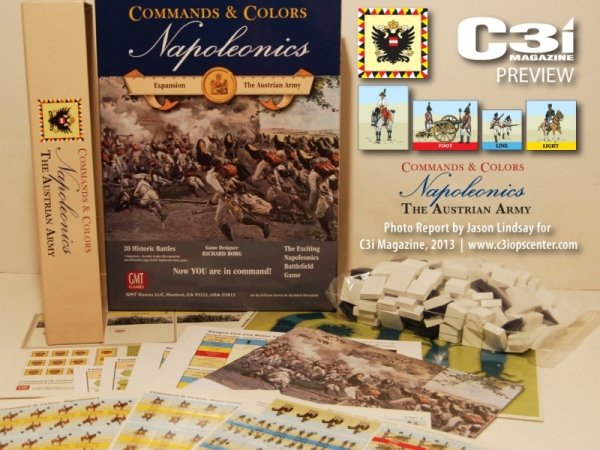 Commands & Colors: Napoleonics Exp. #3: The Austrian Army