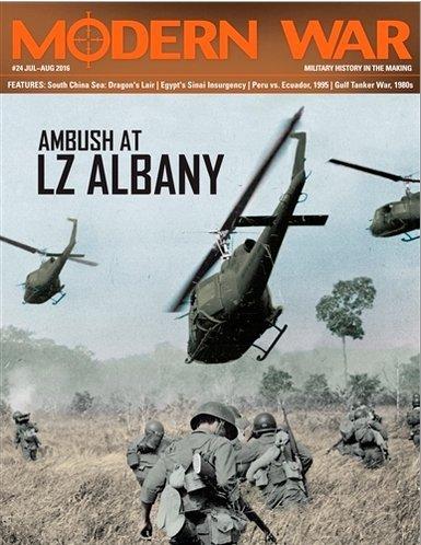 Modern War #24 Ambush at LZ Albany
