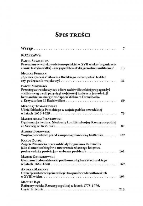 Studia nad staropolską sztuką wojenną. Tom II