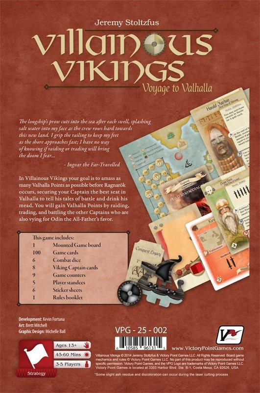 Villainous Vikings 2nd Edition
