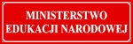 Tablica Ministerstwo Edukacji Narodowej