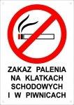 Zakaz palenia na klatkach schodowych i w piwnicach