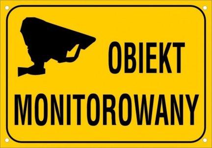 Obiekt monitorowany 30 cm x 21cm