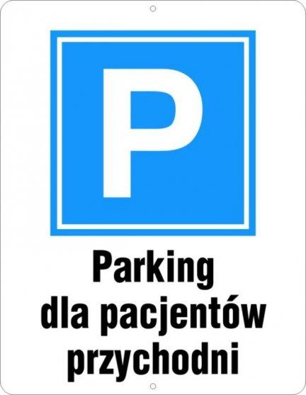 Parking dla pacjentów przychodni