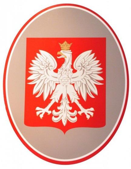 Godło Polski 48 cm x 60 cm