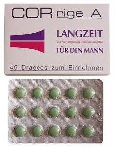 CORRIGE tabletki 45 szt opóźniają wytrysk